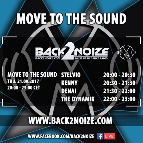 KENNY Live @ Back2Noize Radio - Move To The Sound Show (21.09.2017)