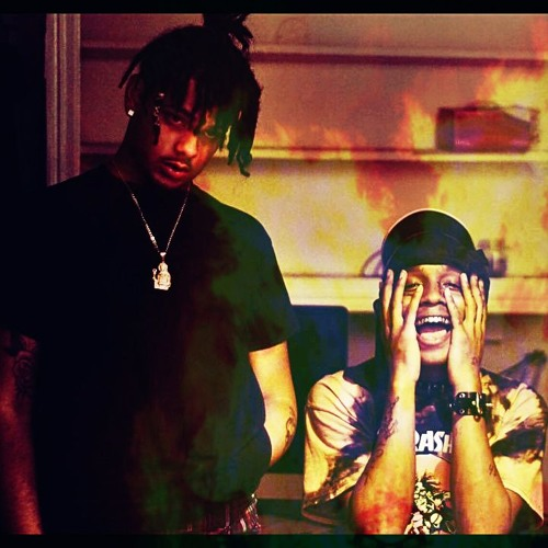 SKI MASK THE SLUMP GOD & SMOKEPURPP - LOOK AT MY WRIST SNIPPET (EXTENDED)