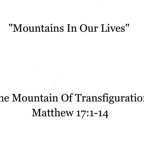 The Mountain of Transfiguration