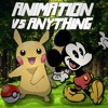 (SCRAPPED) Mickey Mouse vs Pikachu - ANIMATION VS ANYTHING