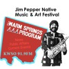 Warm Springs Program  Jim Pepper-Festival with Sean Cruz Wednesday