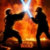 Battle of heroes Anakin vs Obi Wan