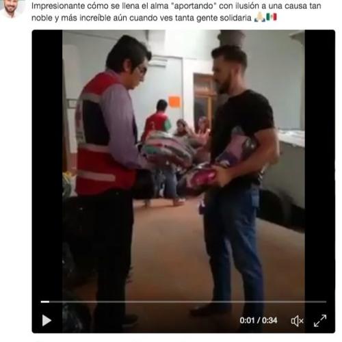 Nada les llena, responde diputado del PVEM a afectados del sismo