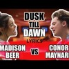 zayn   dusk till dawn ft sia singoff conor maynard vs madison beer
