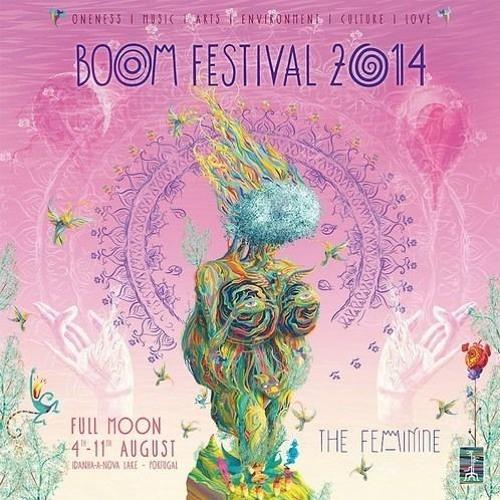 Økapi Boom Festival 2014 - Chillout Garden