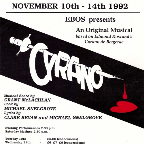 "The Pain of Love from ""Cyrano"" 1992"