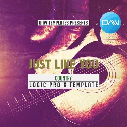 Just Like You Logic Pro X Template