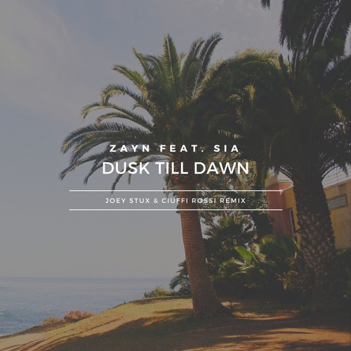 ZAYN - Dusk Till Dawn ft. Sia (Joey Stux Remix ft. Ciuffi Rossi)