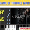 Game Of Thrones Main Theme  Easy Piano (Tutorial  Cover) SHEETS Music  Synthesia