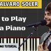 How To Play Sofia - Alvaro Soler Piano Easy (Tutorial + Cover) With Lyrics  Synthesia Lesson