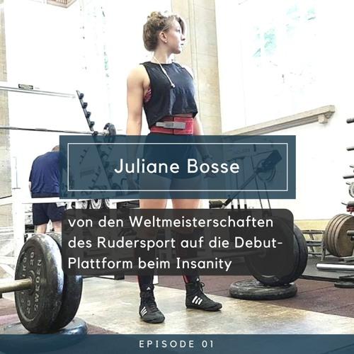 Juliane Bosse - von den Weltmeisterschaften des Rudersport, auf die Debut-Plattform beim Insanity