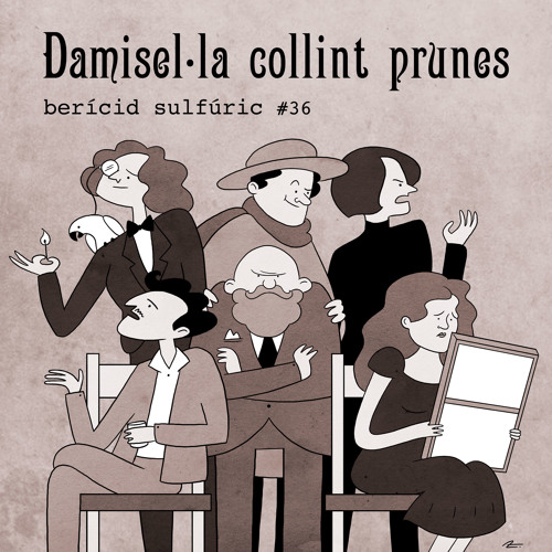 36 - Damisel·la collint prunes