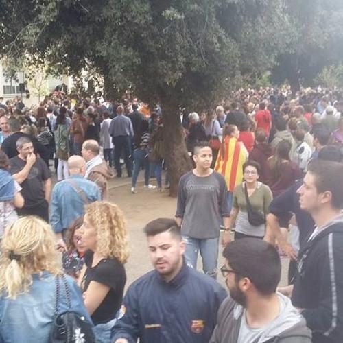 récit le jour de vote a référendum catalan à Figuéres par Josep Planes