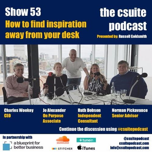 Show 53 - How to find inspiration away from your desk