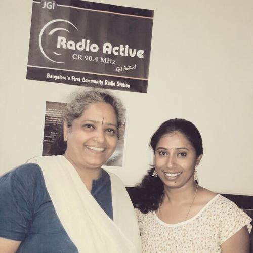 Active Women - Hasirudals's Nalini Shekar Speaks Of Her Journey -Rj padma,  Nalini Shekar