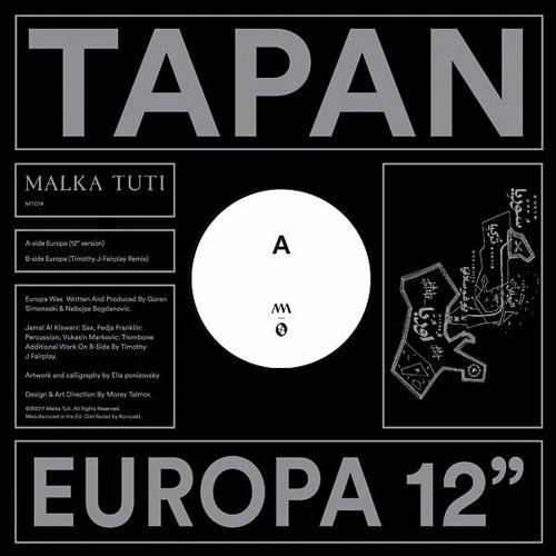 """MT0014 Tapan - Europa 12"""""""