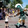 """Sparty: """"The Walking Embodiment of Michigan State University"""""""