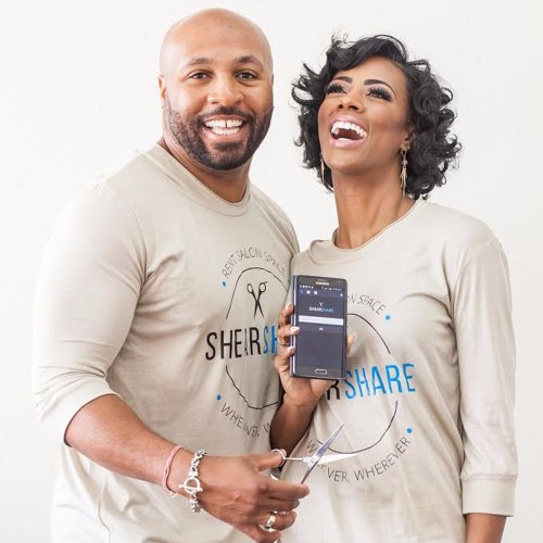 Diversity Summit - Tye and Courtney Caldwell, co-founders of ShearShare