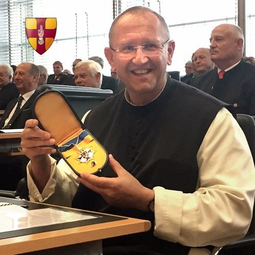 Silbernes Komturkreuz Land Niederoesterreich an Pater Karl Wallner