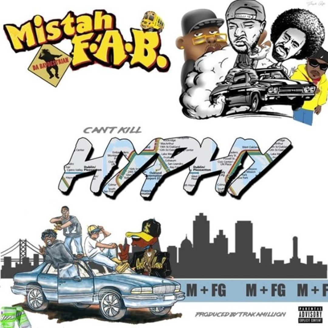 Mistah F.A.B. - Can't Kill Hyphy (Prod. Traxamillion) [Thizzler.com Exclusive]