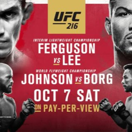 The MMA Analysis - UFC 216 Preview