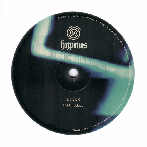 BLNDR - The Untitleds