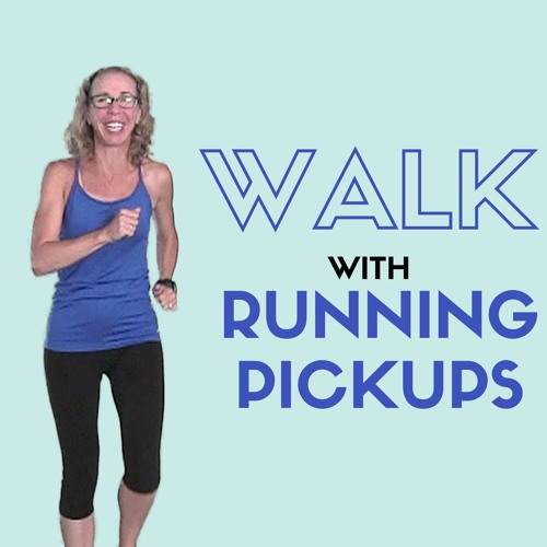 10 Minute Indoor WALK With RUNNING Pick Ups For BEGINNERS