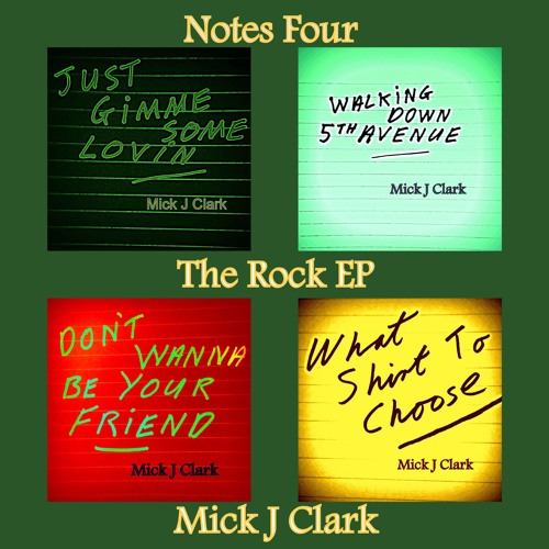 Notes Four The Rock EP
