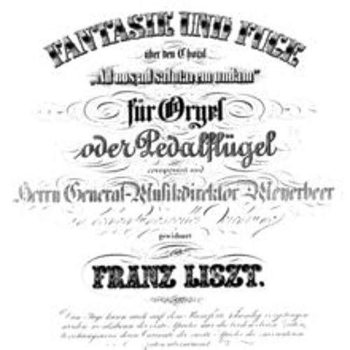 Franz Liszt Ad nos ad salutarem undam