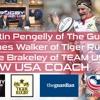 USA Rugby Star Nate Brakeley, Martin Pengelly, James Walker re Dan Payne/Gary Gold