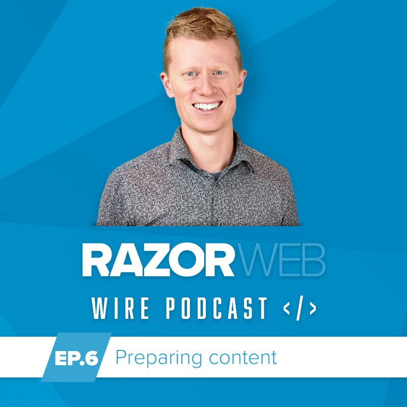 image of podcast Episode 6: Preparing your website content