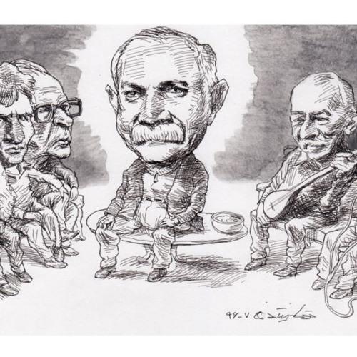 بداههخوانی «الا تی تی» در مهمانی ناصر مسعودی