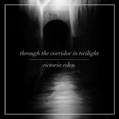 through the corridor in twilight