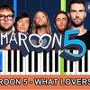 Maroon 5 - What Lovers Do (ft. SZA) Piano Tutorial + Cover With Lyrics  Synthesia Lesson