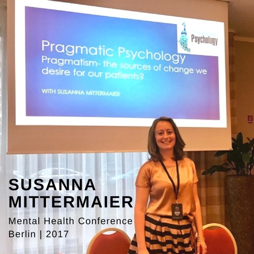 Susanna Mittermaier @ Mental Health Conference Berlin 2017