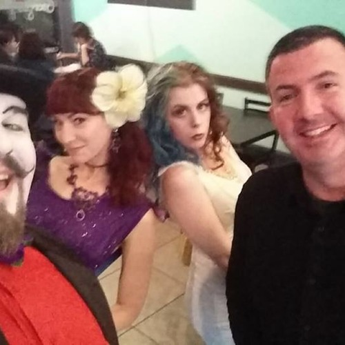 Burlesque and ice cream: A visit from Peep Show