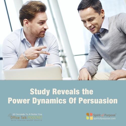 Power Dynamics Of Persuasive Conversation