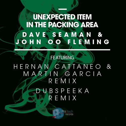 Dave Seaman & John 00 Fleming -Unexpected Item in the Packing Area (Part 1)