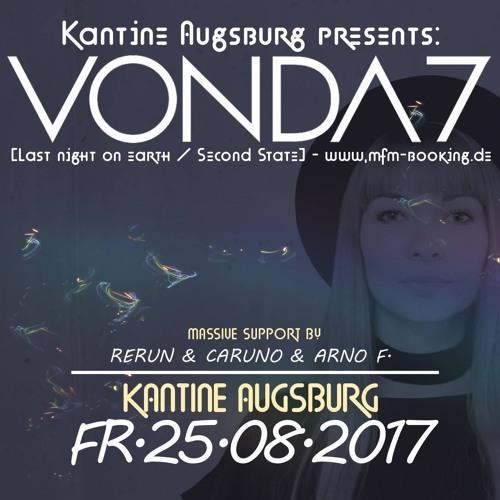 Live-Vinyl-Mix by RERUN - warmup for Vonda7 (Kantine, August 2017)