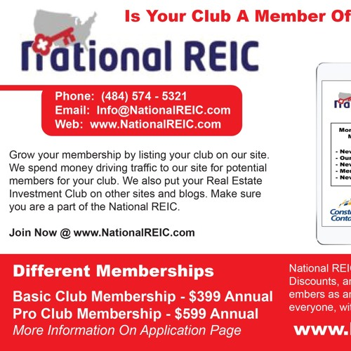 National REIC Podcast with Frank McKinney 10/10/2017