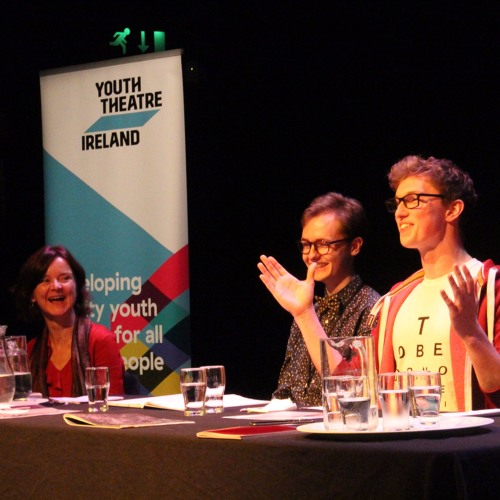 Young Critics Panel Discussion at Dublin Theatre Festival 2017.