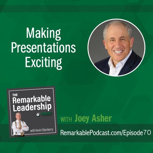 Making Presentations Exciting with Joey Asher