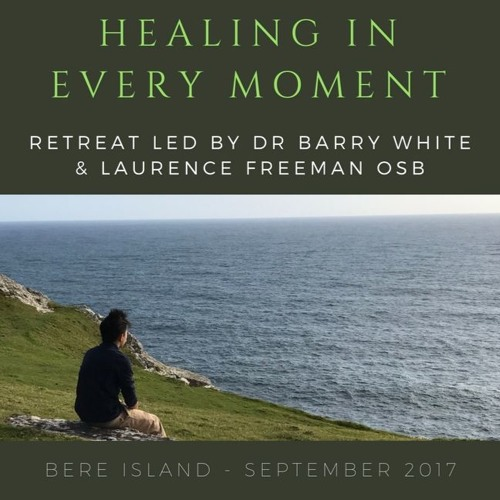 Jesus healing the bleeding woman by Laurence Freeman