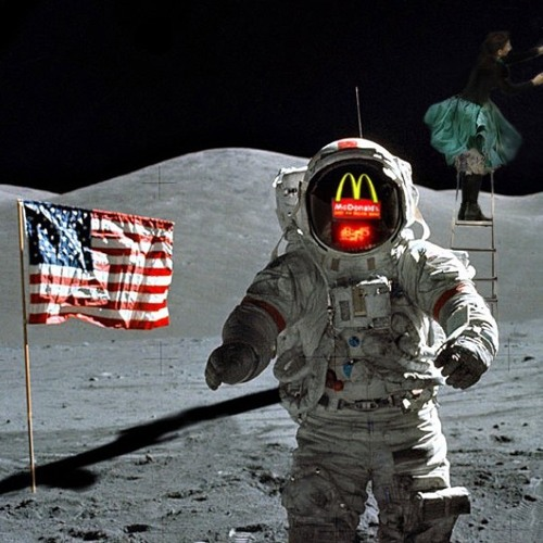 12 - Alien Big Mac Wrapper Found On The Moon