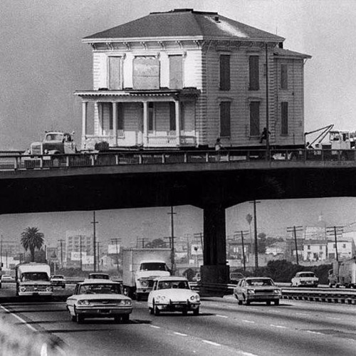 """""""You can't replace that with photos"""": Why so many buildings in Oakland have been picked up and moved"""