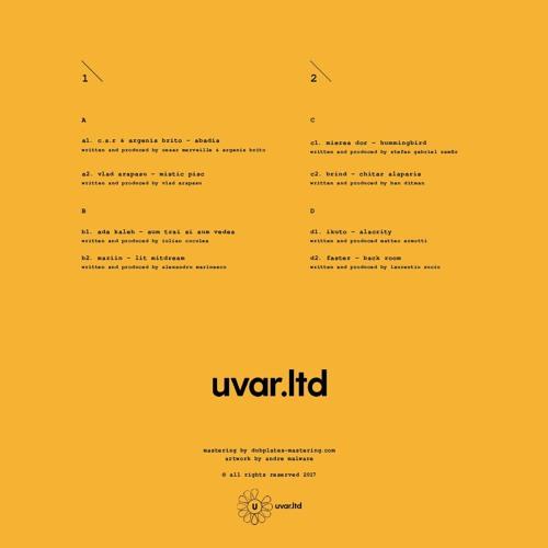 UVARLTD002] Ikuto - Alacrity by playedby | Free Listening on SoundCloud