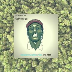 A$AP Rocky- Tropical (ROUGH/NO MASTER)Instrumental Remix(Prod. King Steez)