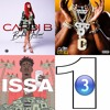 3-In-1 Bodak Yellow, Rake It Up & Bank Account (21 Savage, Cardi B & Yo Gotti remix)