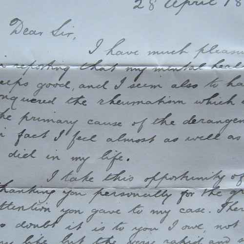 Extract 15.1 - Being An Asylum Patient 2: Letters from the Royal Edinburgh Hospital
