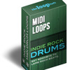 Indie Rock MIDI Drums V2 - The Vice Is Right 120bpm